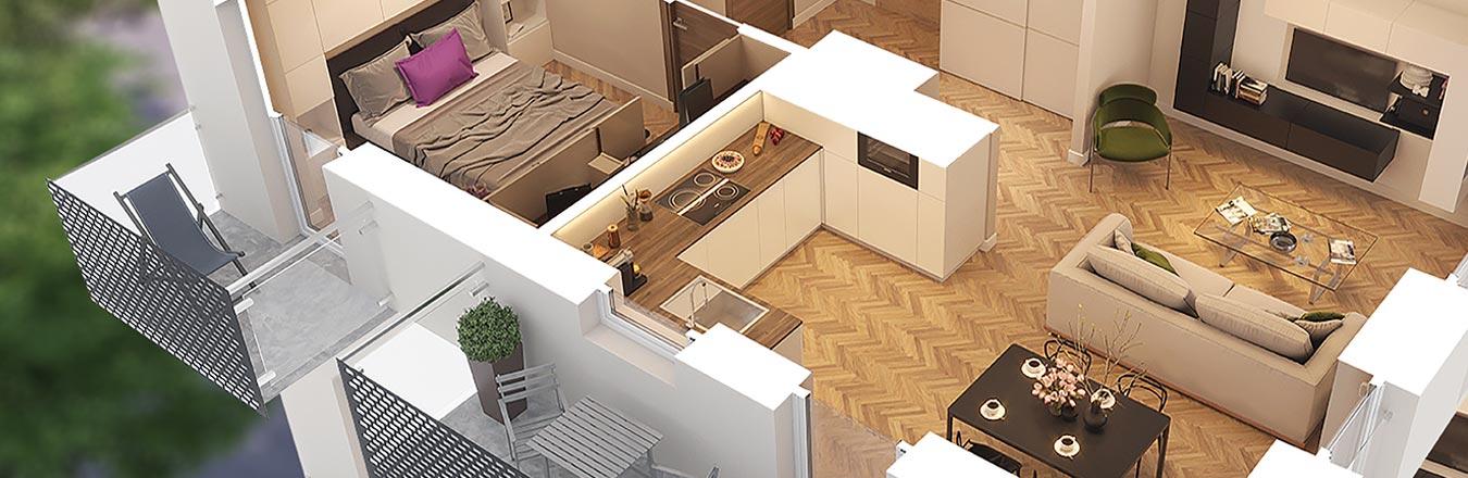 Funkcjonalne mieszkania