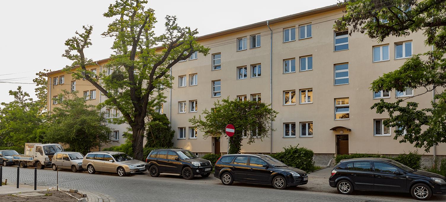 Mieszkania Górnicza - budynek IV