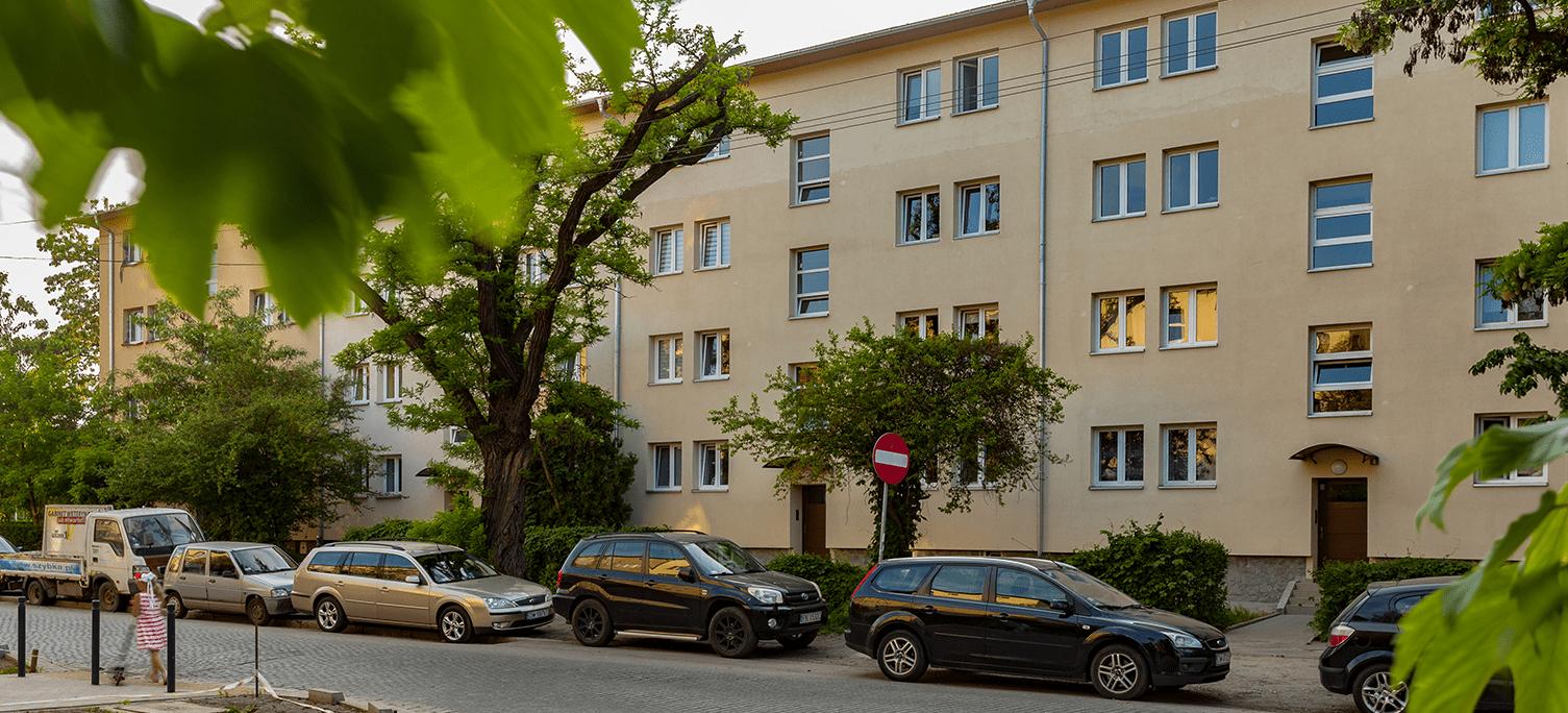 Mieszkania Górnicza - budynek V
