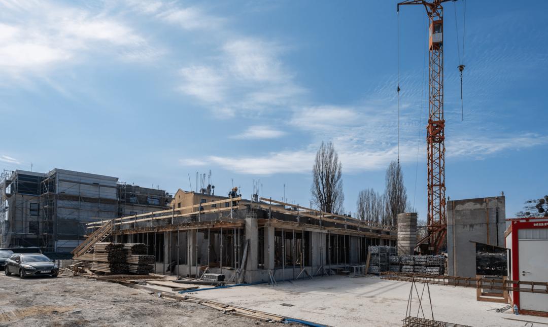 Halo Apartamenty - postępy prac - 1