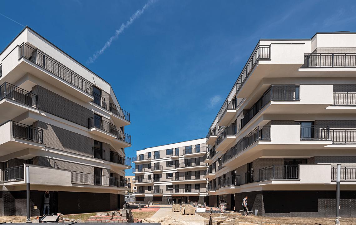 Osiedle Przystań - zakończenie prac budowlanych - 2