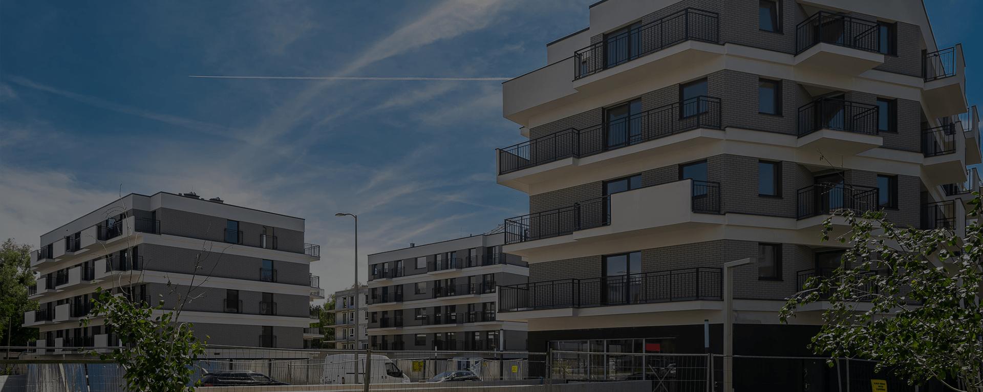 Osiedle Przystań - zakończenie prac budowlanych - 1