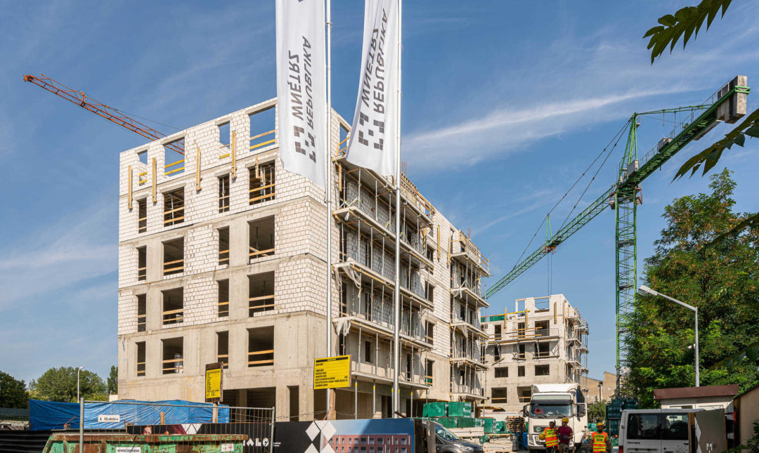 ApartHotel - postępy w pracach budowlanych - 3