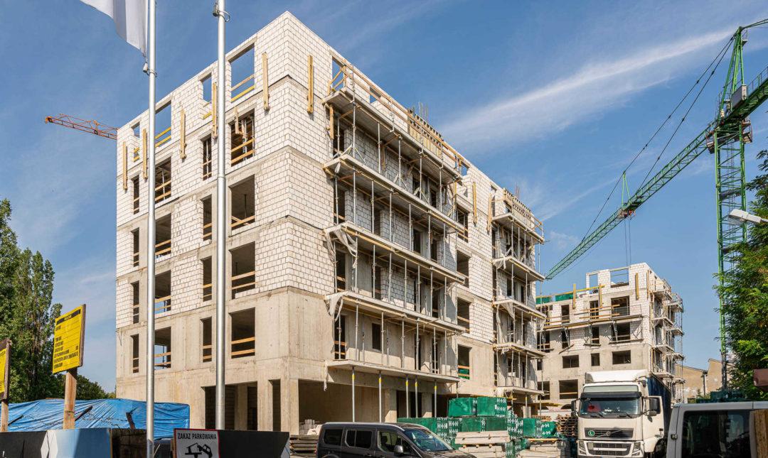 ApartHotel - postępy w pracach budowlanych - 4