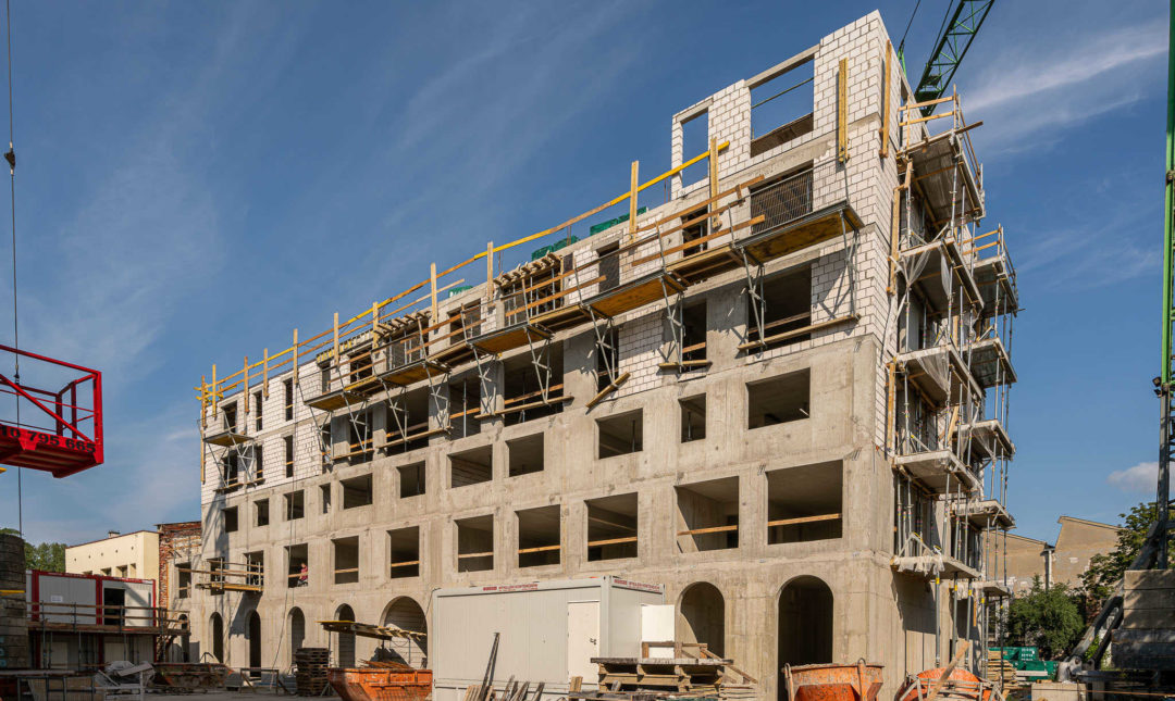ApartHotel - postępy w pracach budowlanych - 6