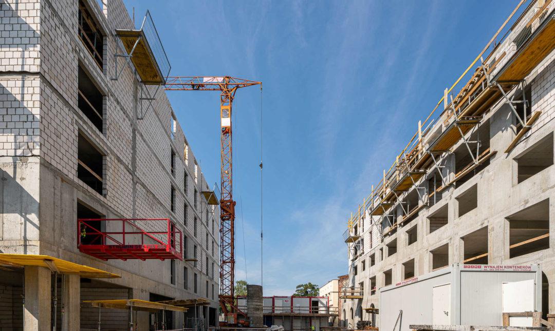 ApartHotel - postępy w pracach budowlanych - 7