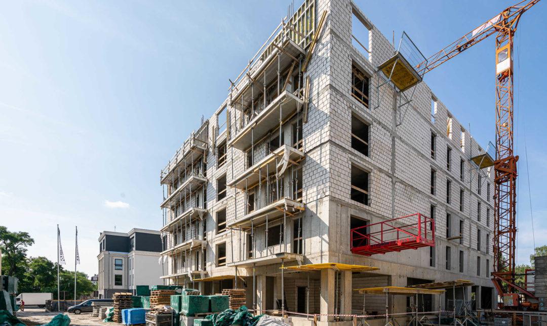ApartHotel - postępy w pracach budowlanych - 8