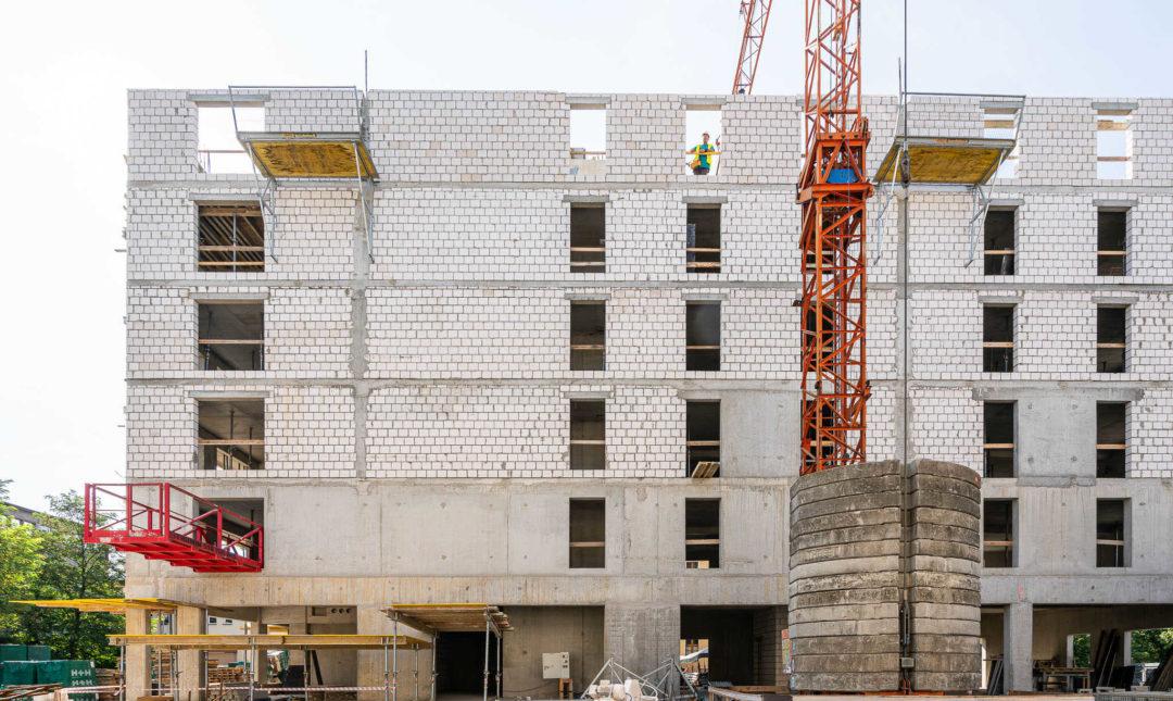 ApartHotel - postępy w pracach budowlanych - 9