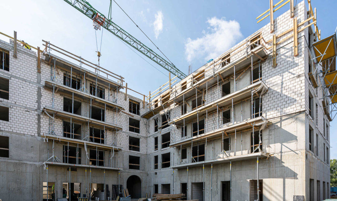 ApartHotel - postępy w pracach budowlanych - 10