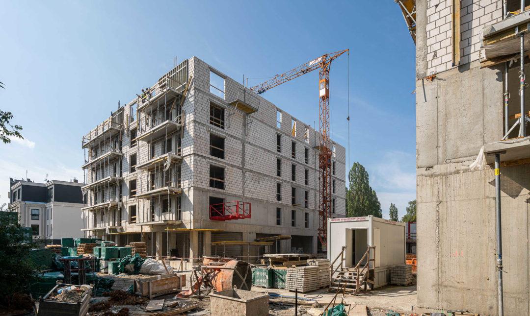 ApartHotel - postępy w pracach budowlanych - 13