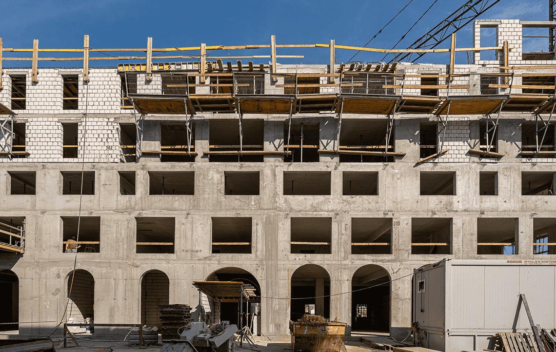 ApartHotel - postępy w pracach budowlanych - 2
