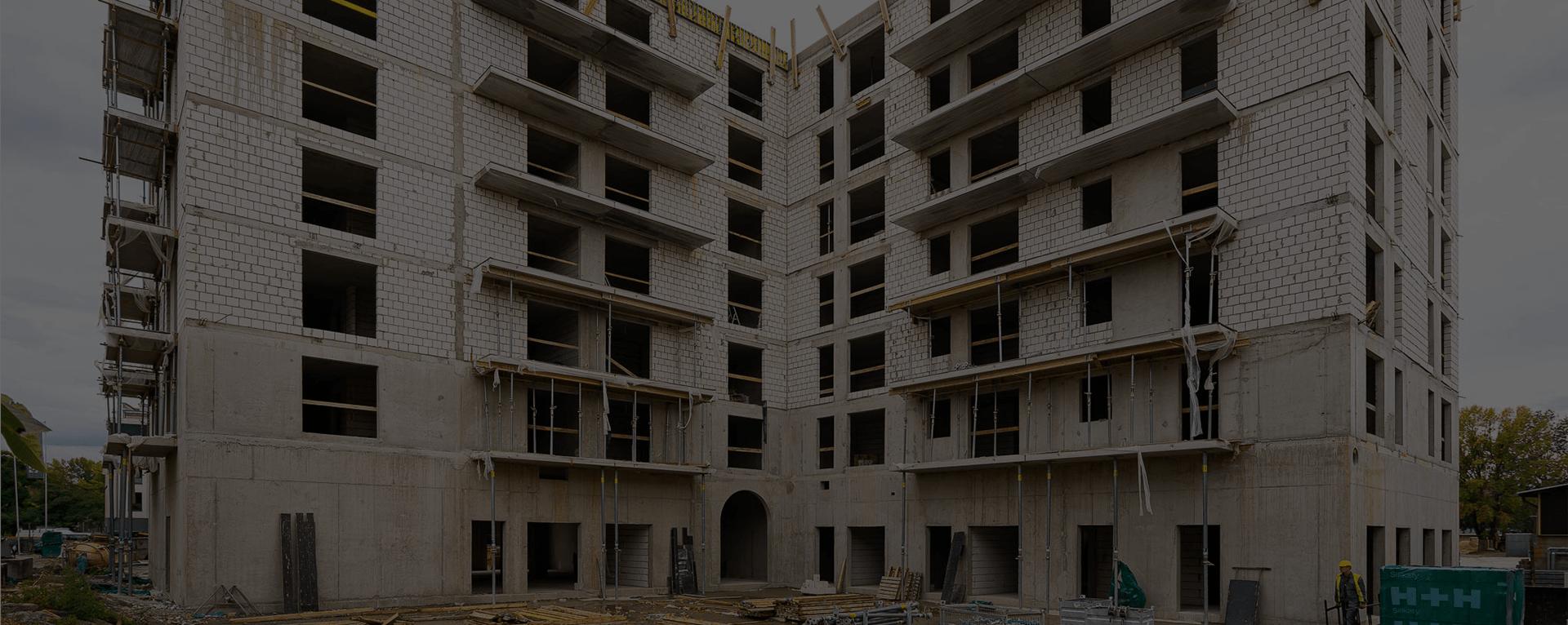 Halo Apartamenty - postępy w budowie - 1