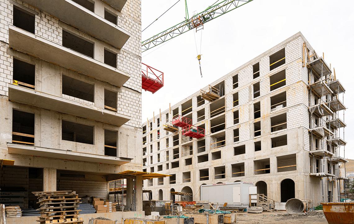 Halo Apartamenty - postępy w budowie - 2