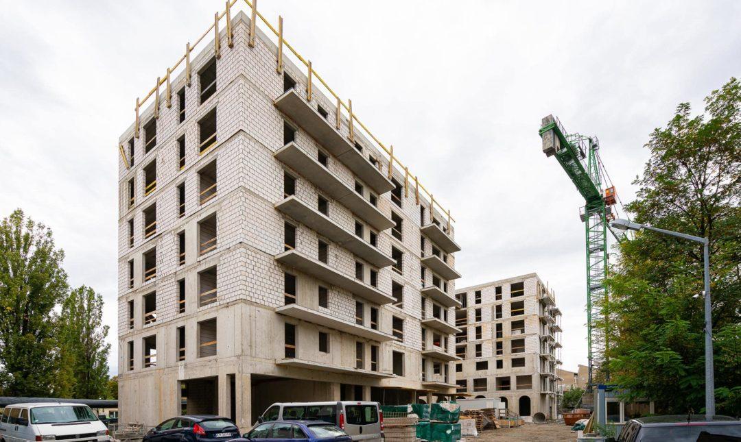 Halo Apartamenty - postępy w budowie - 6