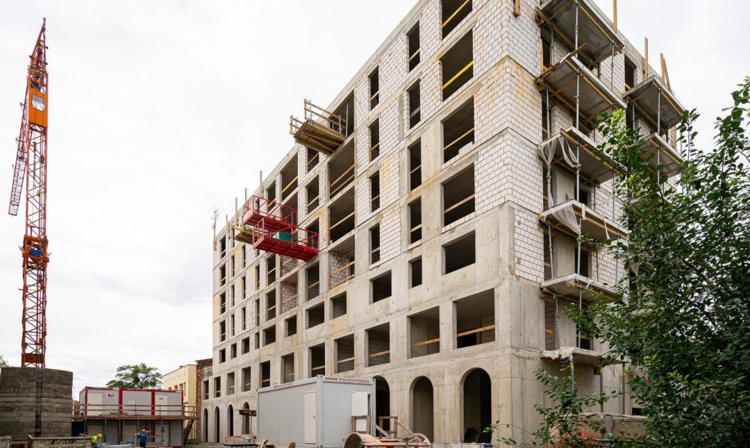 Halo Apartamenty - postępy w budowie - 7