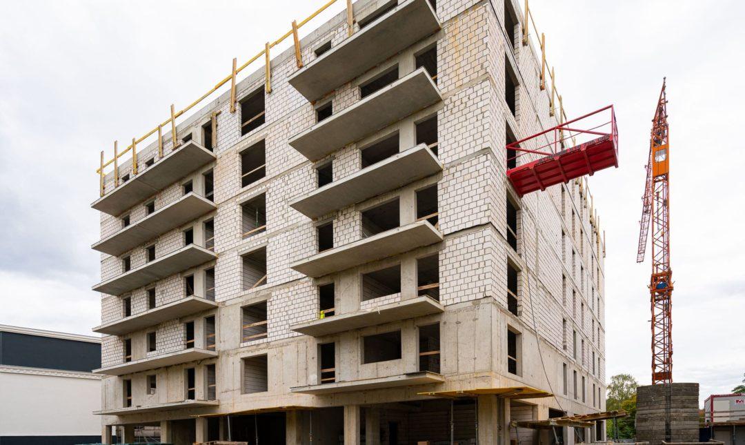 Halo Apartamenty - postępy w budowie - 8