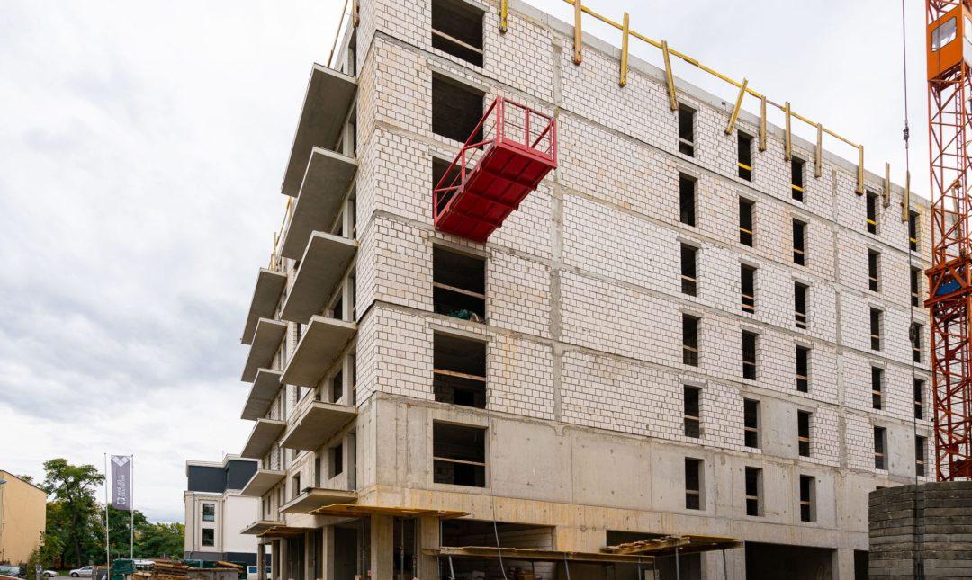 Halo Apartamenty - postępy w budowie - 9
