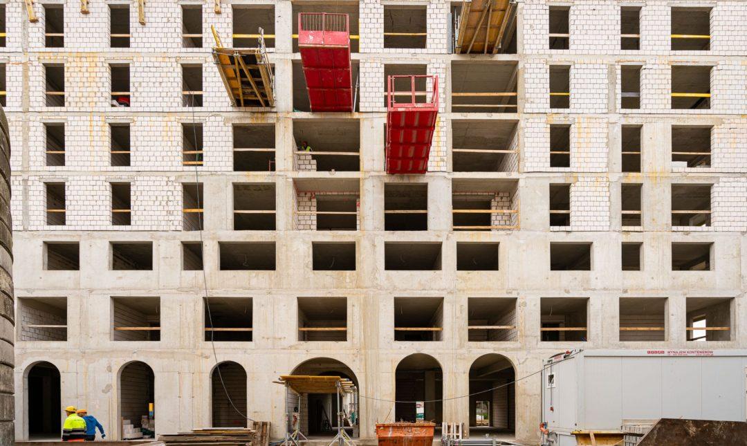 Halo Apartamenty - postępy w budowie - 10