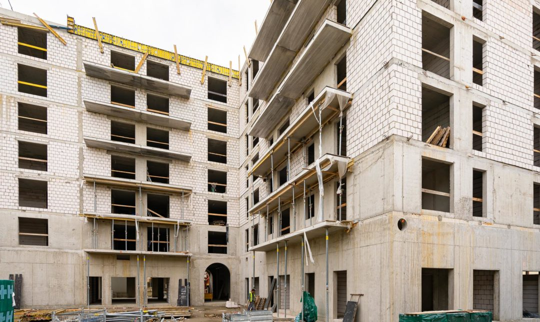 Halo Apartamenty - postępy w budowie - 3