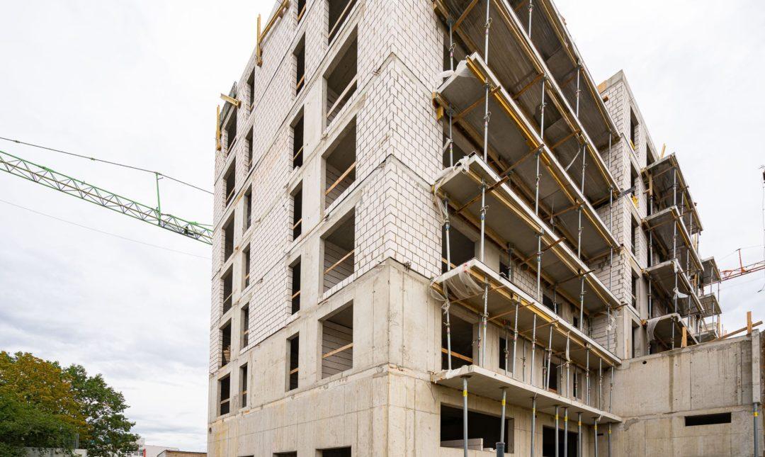 Halo Apartamenty - postępy w budowie - 4